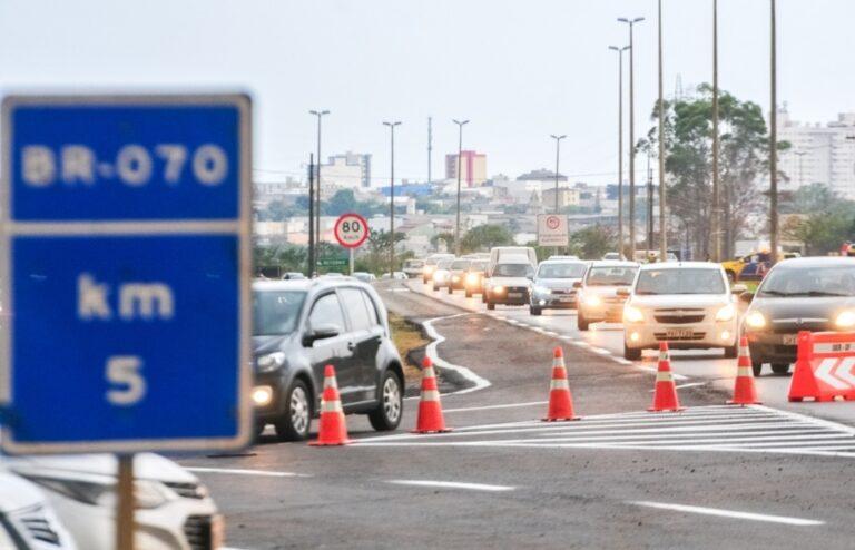 Número de acidentes diminuiu na BR-070, aponta estudo