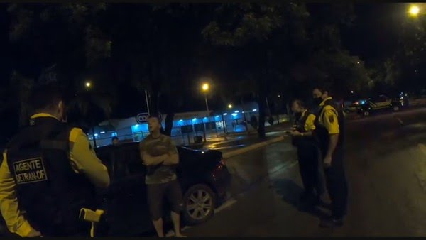 VÍDEO: Policial federal é preso por PMDF.