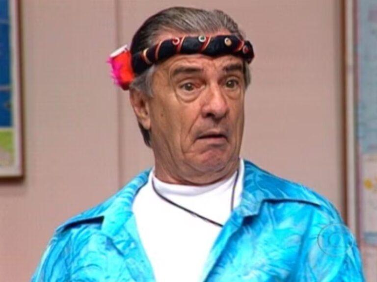 """Morre o """"Seu Peru"""", o ator Orlando Drummond aos 101 anos."""