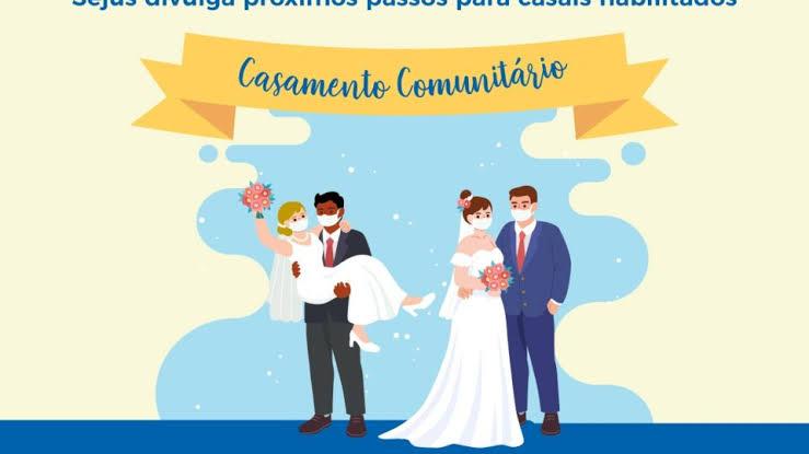 Inscrição para o Casamento Comunitário até amanhã