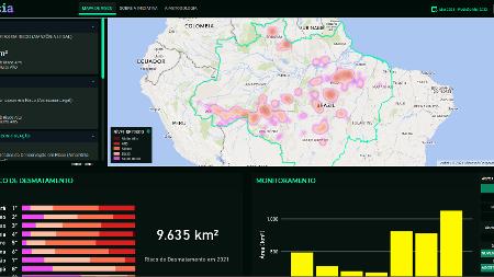 Ajuda inteligente: cientistas criam algoritmo que monitora desmatamento