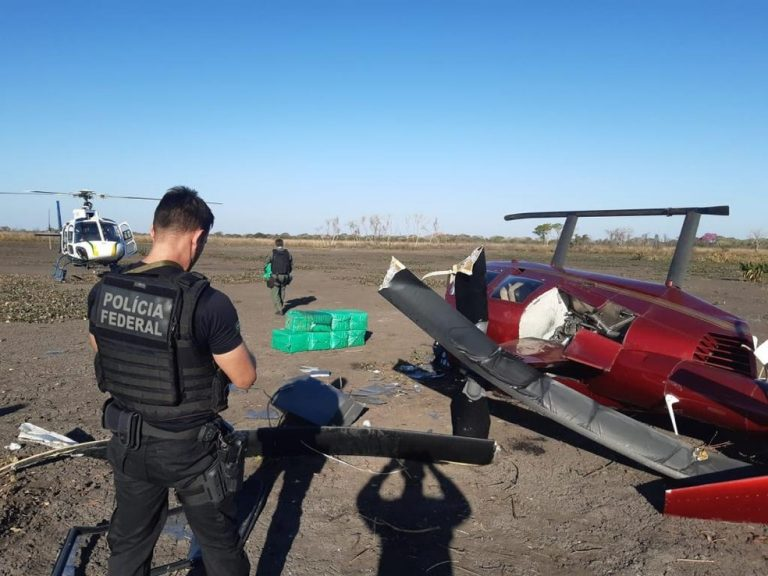 Helicóptero com 300 kg de cocaína: Ministério Público do DF investiga envolvimento de policial civil no caso